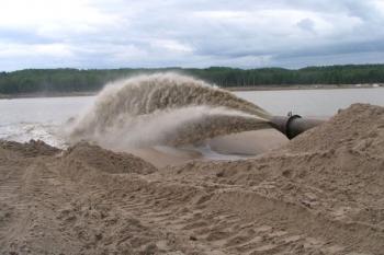 Намыв участка в Финском заливе, под строительство элитного района, приостановлен?